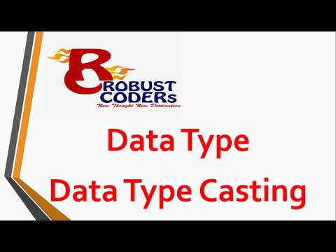 Data Type | Type Casting in java | Robust Coders